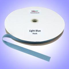 "3/4"" - DuraGrip Brand Sew-On Hook - Light Blue DG34LBHS"
