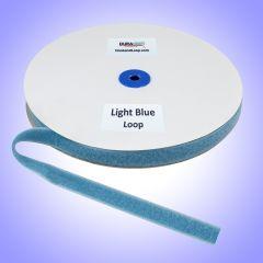 "3/4"" - DuraGrip Brand Sew-On Loop - Light Blue DG34LBLS"
