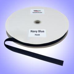 "3/4"" - DuraGrip Brand Sew-On Hook - Navy Blue DG34NBHS"