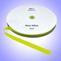 "3/4"" - DuraGrip Brand Sew-On Hook - Neon Yellow DG34NYHS"