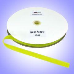 "3/4"" - DuraGrip Brand Sew-On Loop - Neon Yellow DG34NYLS"