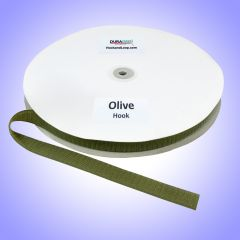 "3/4"" - DuraGrip Brand Sew-On Hook - Olive Drab DG34ODHS"