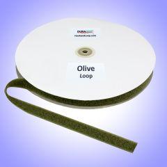 """3/4"""" - DuraGrip Brand Sew-On Loop - Olive Drab DG34ODLS"""