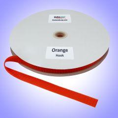 """3/4"""" - DuraGrip Brand Sew-On Hook - Orange DG34ORHS"""