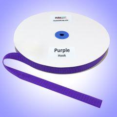 "3/4"" - DuraGrip Brand Sew-On Hook - Purple DG34PUHS"
