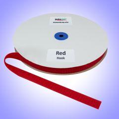 "3/4"" - DuraGrip brand Sew-On Hook - Red DG34RDHS"