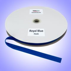"""3/4"""" - DuraGrip brand Sew-On Hook - Royal Blue DG34RBHS"""