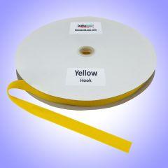 "3/4"" - DuraGrip brand Sew-On Hook - Yellow DG34YWHS"