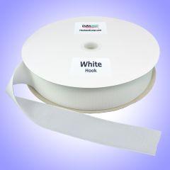 "2"" - DuraGrip brand Sew-On Polyester Hook - White DG20WHHPLY"