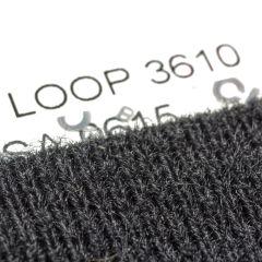 """4"""" - Velcro® brand Adhesive Backed Loop 3610 - Black 128391"""