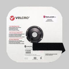 "1.5"" - Velcro® brand Iron-On Loop - Black 170392"