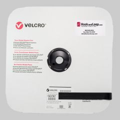 "1"" - Velcro® brand MVA8 Sew On Hook - Black 193787"