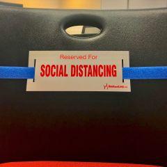 Social Distancing Strap-Royal Blue