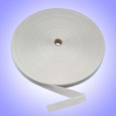 "1"" - DuraGrip brand Heavyweight Polypropylene Webbing - White DG10WHWEBBHW"