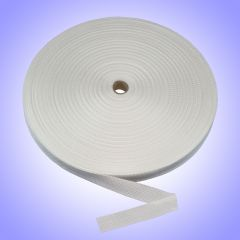 "1.5"" - DuraGrip brand Heavyweight Polypropylene Webbing - White DG15WHPOLYHW"