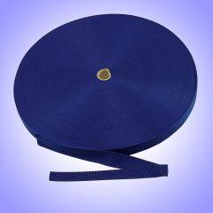 "1""  - DuraGrip brand Lightweight Polypropylene Webbing - Royal Blue DG10RBWEBBLW"