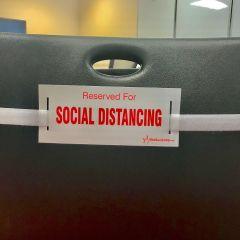 Social Distancing Strap-White