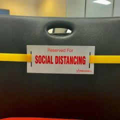Social Distancing Strap-Yellow