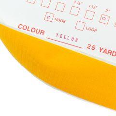 "2"" - DuraGrip brand Peel & Stick Hook: Rubber - Yellow DG20YWHR"
