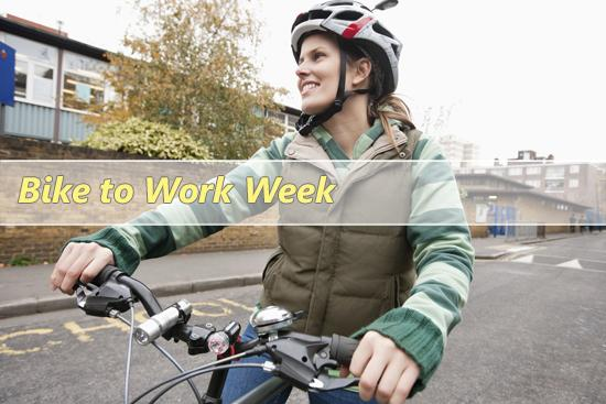 National Bike to Work Week: May 11th to 15th